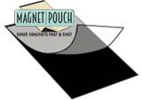 laminating pouches turned magnet